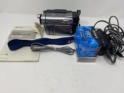 Sony Handycam DCR-TRV280 Digital 8 Camcorder Night Shot Video Transfer