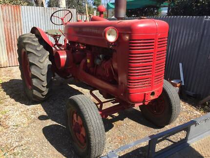 Vintage AW6 tractors.