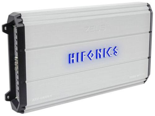 New Hifonics Zeus ZXX-2000.4 2000 Watt RMS 4 Channel Class A