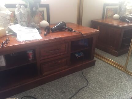 Dining Table TV TABLE Dresser And Drawers