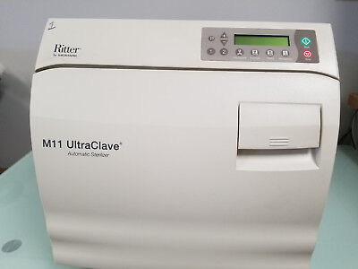 Midmark M11-022 Sterilizer Autoclave With Printer Warranty And Free Shipping