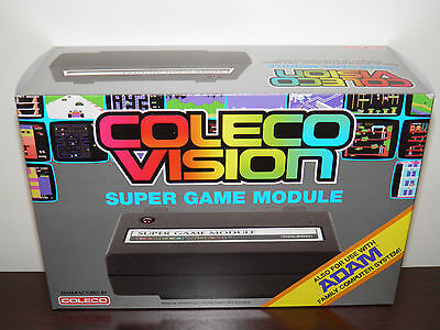 ColecoVision/ADAM Supergame module with Ultimate SD Wafer Drive (factory new)