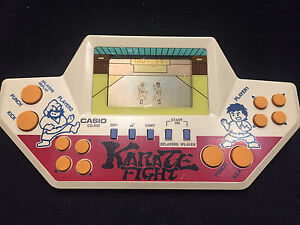 Game-amp-Wath-CASIO-034-KARATE-FIGHT-034-CG-610-Vintage-made-in-Japan