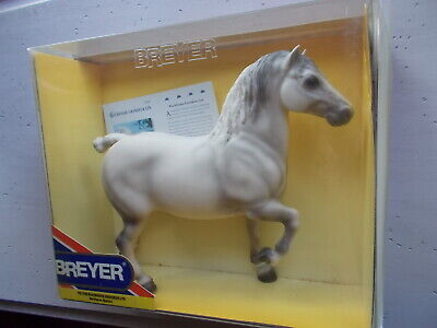 Breyer Blackhome Grandeur Lyn Grey Percheron Stallion Belgian 2003-2004 NIB