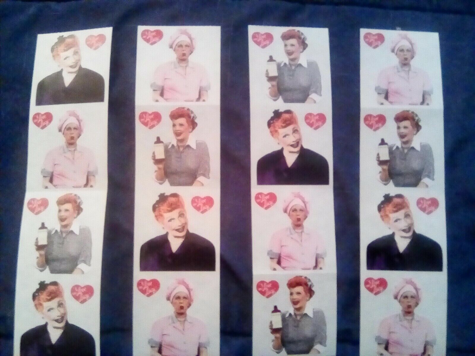 I Love Lucy Stickers - $2.99