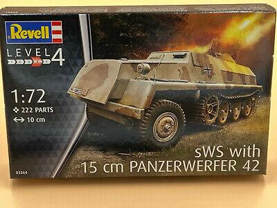 1/72 Plastikbausatz Deutscher sWS mit 15cm Panzerwerfer 42 REVELL 03264 OVP