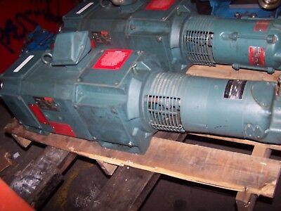Reliance 5 Hp Dc Electric Motor Sc2113atz Frame 240 Vdc W Tachometer Generator
