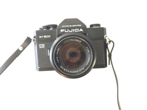 Fujica ST901 35mm SLR Film Camera / Lens Fujinon 1:1.4