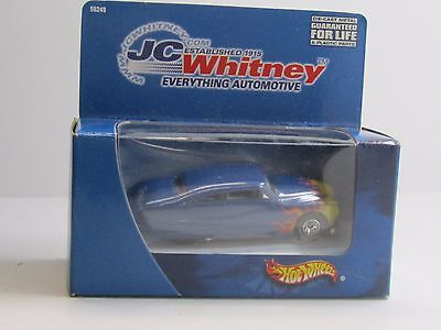 Hot Wheels Jc Whitney Htf Blue Purple Passion  51 Mercury  W Goodyear Tires