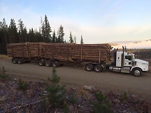 2014 Kenworth Logging truck