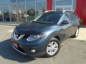 2015 NISSAN ROGUE SV FWD PREMIUM PKG CAMERA PANA ROOF ALLOYS SPO