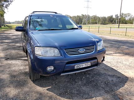 2008 Ford Territory Ghia Awd 7seater
