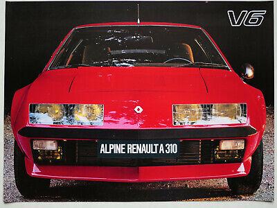 aluminum alloy radiator//radiateur Renault Alpine A310 V6 1977-1985 78 79 80 81