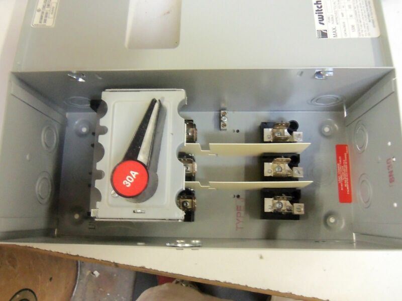 FEDERAL PIONEER 1336 DISCONNECT SWITCH *NEW IN BOX*