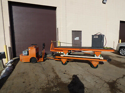 Taylor Dunn Tugger Two 12000lb 4 Wheel Steer Carts And Charger Way Cool