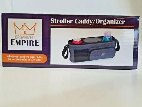 Organized Empire Stroller Accessory Caddy Organizer Storage Cup Holder Bag Hook
