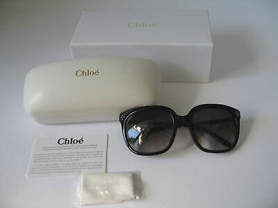 Chloé Sonnenbrille CE642S 023 55-19-130 Schwarz Gradient Made in Italy
