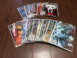 Constantine DC New 52 Complete 23 issue set