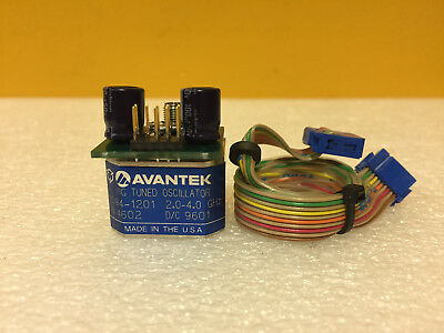 Avantek Y094-1201 2 To 4 Ghz Sma F Yig Tuned Oscillator. Tested
