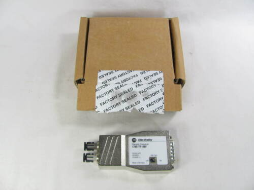Allen Bradley, PLC-5, Fiber Optic Transceiver, EtherNet AUI, 1785-TR10BF, New