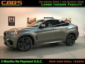 2016 BMW X6 M ONE OWNER| WARRANTY| NAV -360 CAMERA -RED LEATHER