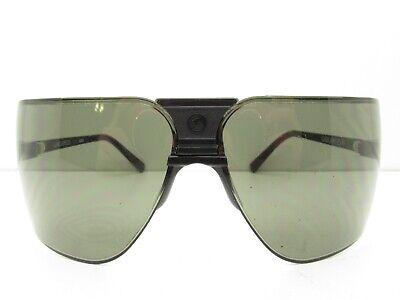 GARGOYLES RIMLESS AVIATOR SPORT WRAP SUNGLASSES eyewear black ~79-20-120 98143 Gargoyles Eyewear Sunglasses