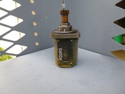 Oliver Waukesha Diesel Engine 77 Super 88 Veeder Root Rev Hour Meter Bl-113944