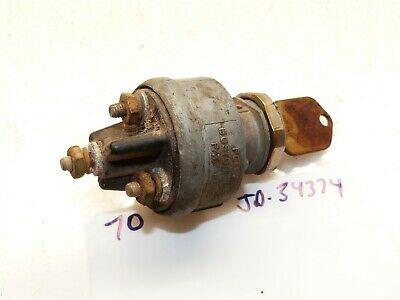 John Deere 70 Skidsteer Ignition Switch