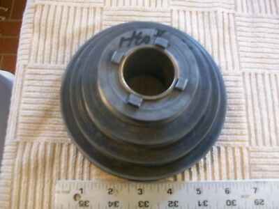 Heavy Alloy 4 Step Headstock Pulley 10-790 From Vintage Atlas 10 Metal Lathe