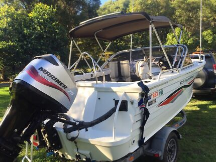 Quintrex Freedom Sport 475 Bow Rider Pottsville Tweed Heads Area Preview