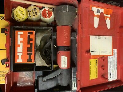 Hilti Dx 600 N Powder-actuated Nail Stud Gun Kit With Accesseries