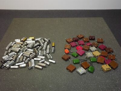 Mixed Lot Vintage Capacitors Sprague Other 399