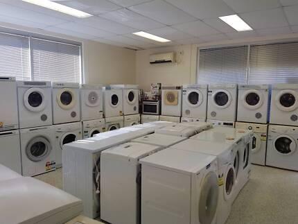 Dryers start from $100 , Washing machines start from $150