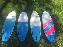 4 Hand Shaped Fibreglass Surfboards Sylvania Sutherland Area Preview