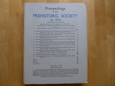 Proceedings Of The Prehistoric Society 1965