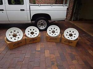 Sunraysia Steel Wheels - 15 x 7 Nissan Toyota Mazda Glenorie The Hills District Preview