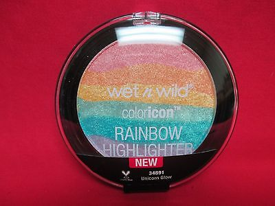 Wet n Wild Coloricon Rainbow Highlighter~Unicorn Glow~NEW~SEALED~LIMITED EDITION