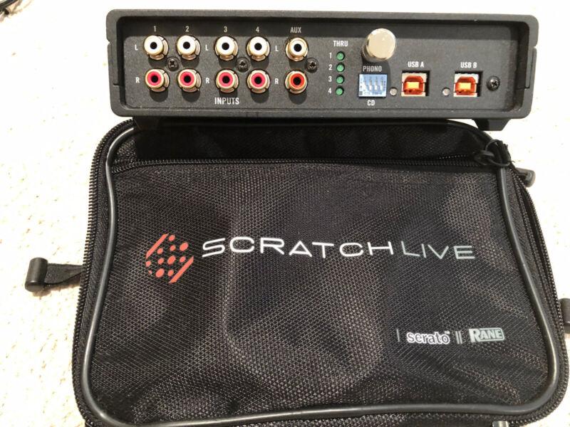 Serato Scratch Live SL4 Interface