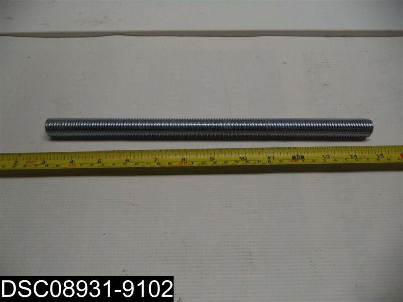 "QTY=50: 12-1/4"" Long 3/4""-10 Diameter All Threaded Rod Zinc Coated"