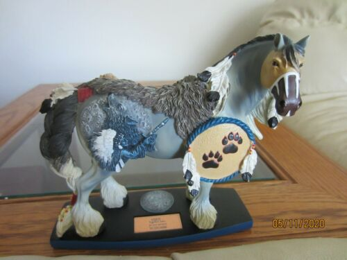 HORSE OF A DIFFERENT COLOR - WOLF SPIRIT (CLYDESDALE)