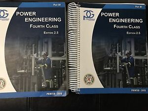 4th Class Power Engineering Textbooks