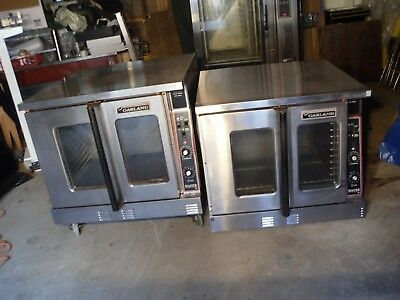 Used Garland Commercial Double Stack Convection Oven Nat. Gas. Master Series