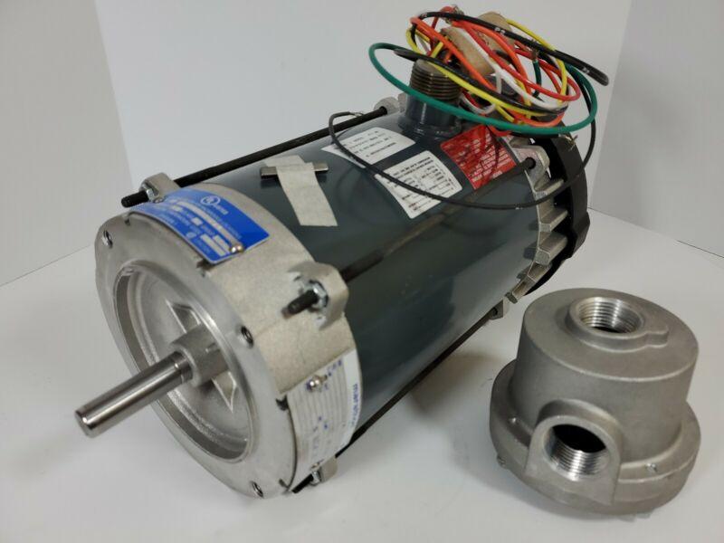 1 HP Hazardous Location Motor Capacitor-Start,1725 RPM,115/208-230v 1TUK8