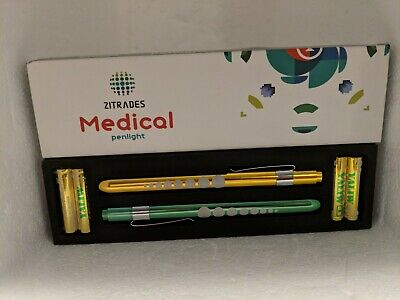 Zitrades Pen Light For Nurse Medical Penlight With Pupil Gauge For Nursing