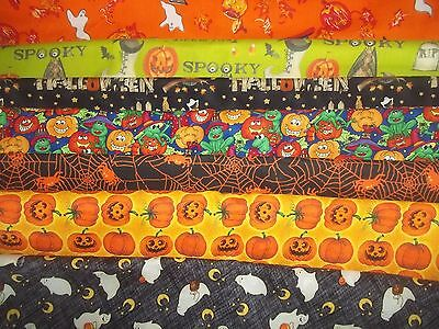 HALLOWEEN ghost pumpkin witch BAT BTY Cotton FABRIC U-Pick See LISTING for INFO](Bat For Halloween)