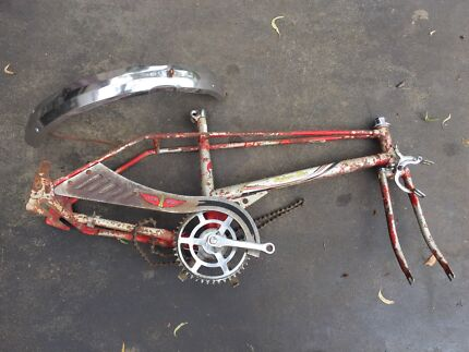 Malvern star flying wedge dragster dragstar frame and parts