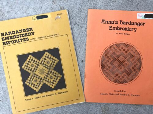 Hardanger Embroidery Favorites Book 1 + Anna