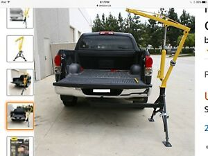 Hydraulic Hitch Mounted Pickup Truck Crane