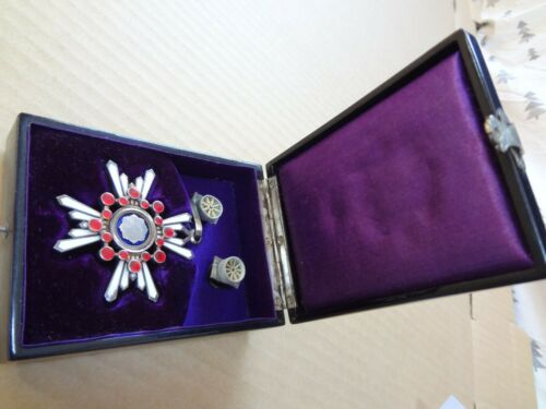 WW2 JAPANESE ARMY 3th Orders of the Sacred Treasure MEDAL badge army navy RARE 7