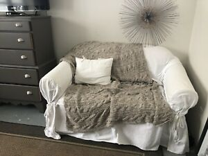 Small size loveseat